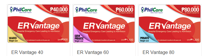 ERVantage Prepaid Card Denominations