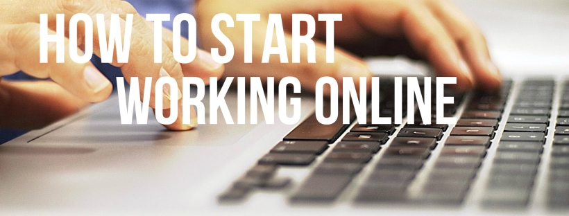 how to start working online